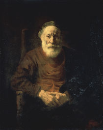 Rembrandt, Alter Mann in rotem Gewand by AKG  Images