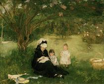 B.Morisot, Fliederbuesche in Maurecourt von AKG  Images