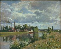 C.Pissarro, Die Oise bei Pontoise by AKG  Images