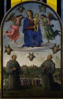 P.Perugino, Maria mit Kind u.Heiligen von AKG  Images