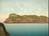 Gibraltar / Foto um 1900 von AKG  Images