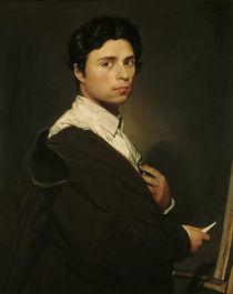 J.A.D.Ingres, Selbstbildnis 1804 von AKG  Images