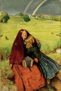 J.E.Millais, Das blinde Maedchen von AKG  Images