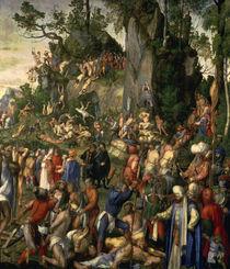 A.Duerer, Marter der zehntausend Christen by AKG  Images