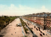 Paris,Jardin des Tuileries u.Rue Rivoli by AKG  Images
