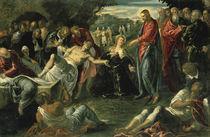 Tintoretto, Auferweckung Lazarus by AKG  Images
