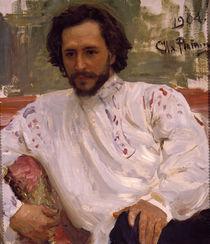 Leonid Andrejew / Gemaelde von Repin by AKG  Images