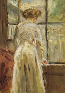 Fritz von Uhde, Frau neben dem Fenster von AKG  Images