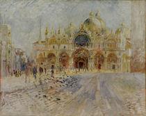 A.Renoir, Markusplatz in Venedig von AKG  Images