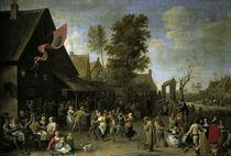 D.Teniers d.J., Bauernkirmes by AKG  Images