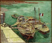 V.v.Gogh, Rhonebarken by AKG  Images