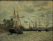 C.Monet, Die Seine bei Rouen by AKG  Images