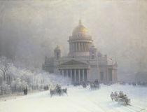 St.Petersburg, Isaakskathedr. / Aiwasow. von AKG  Images