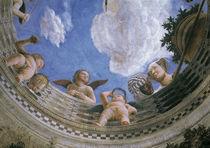 Mantegna, Camera degli Sposi, Decke von AKG  Images