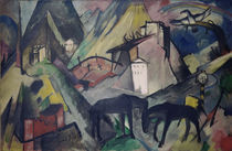 Franz Marc, Das arme Land Tirol by AKG  Images