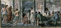 A.Feuerbach, Das Gastmahl des Plato by AKG  Images