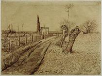V.v.Gogh, Landschaft mit Weg u.Kopfweide by AKG  Images