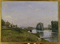 A.Sisley, L'ile Saint Denis von AKG  Images
