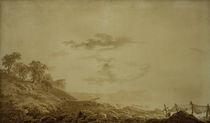 C.D.Friedrich, Arkona bei Mondlicht von AKG  Images