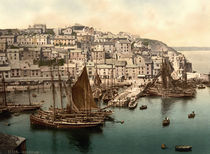 Brixham, Photochrom um 1890/1900 by AKG  Images