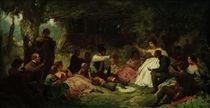 C.Spitzweg, Das Picknick von AKG  Images