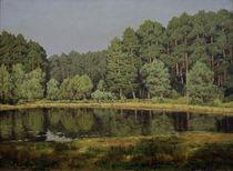 W.Leistikow, Waldlandschaft maerk.See von AKG  Images