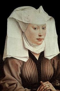 Van der Weyden/ Frau mit Fluegelhaube by AKG  Images