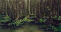F.Khnopff, Der unheimliche Wald by AKG  Images