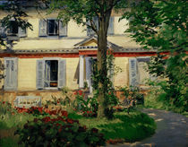 E.Manet, Landhaus in Rueil von AKG  Images