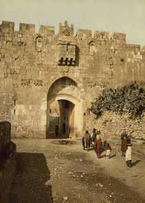 Jerusalem, Loewentor / Photochrom by AKG  Images