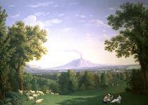 J.P.Hackert, Englischer Garten Caserta by AKG  Images