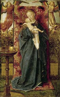 Jan van Eyck, Madonna am Brunnen von AKG  Images