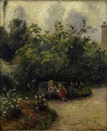 C.Pissarro,Ecke im Garten in L'Hermitage by AKG  Images