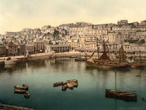 Brixham, Photochrom um 1890/1900 by AKG  Images