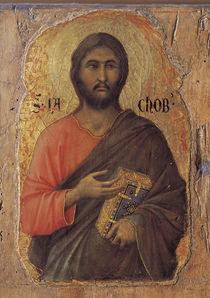 Duccio, Apostel Jakobus d.J. von AKG  Images