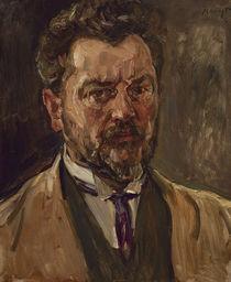 Max Slevogt, Selbstbildnis 1916 von AKG  Images