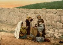 Wanderschuster aus Jerusalem/Photochrom by AKG  Images