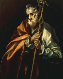 El Greco, Apostel Judas Taddaeus by AKG  Images
