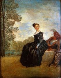 Watteau, Die Schmollende by AKG  Images