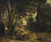 G.Courbet, Rehbockgehege by AKG  Images