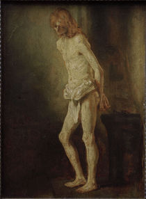 Rembrandt, Christus an der Geisselsaeule by AKG  Images