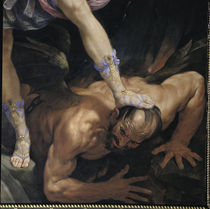 G.Reni, Kampf Michaels mit Satan, Aussch von AKG  Images