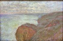 C.Monet, Auf der Steilkueste bei Dieppe by AKG  Images