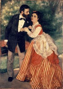 A.Renoir/ Das Ehepaar Sisley/ 1868 von AKG  Images