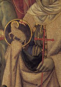 Duccio, Maesta, Hl.Agnes by AKG  Images