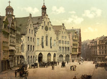 Frankfurt a.M., Roemer / Photochrom by AKG  Images