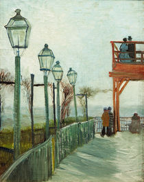 V.van Gogh, Terrasse...Moulin Blute fin by AKG  Images