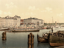 Stettin,Hafen,Dampfschiff von AKG  Images