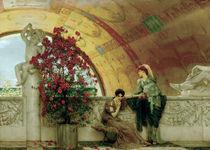 L.Alma Tadema, Unbewusste Rivalinnen von AKG  Images