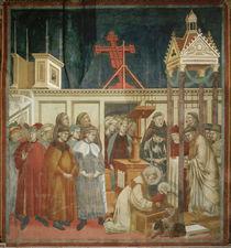 Giotto, Weihnachtsfeier von Greccio by AKG  Images